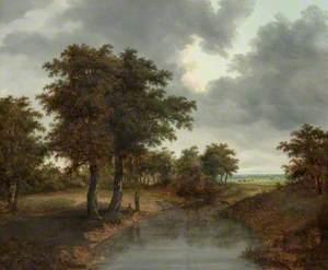 Landscape and River Scene