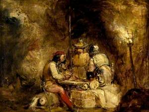 Spanish Bandits in a Cave