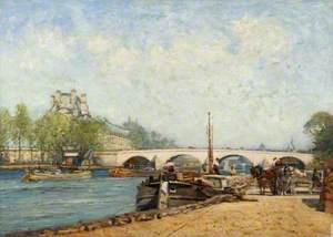 Paris, River Scene