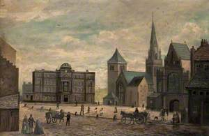 Glasgow Cathedral and Infirmary
