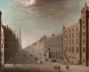 Trongate, Glasgow, Looking West from Glasgow Cross (after the Foulis Academy)