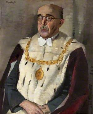 Andrew Hood (b.1887), LLD, Lord Provost of Glasgow (1955–1958)