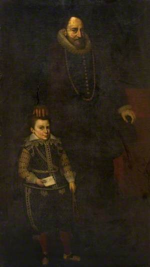 Portrait of a Father and Son