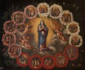 The Rosary of Fifteen Joys and Sorrows of the Virgin