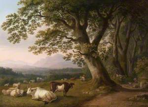 Landscape with Cattle and Sheep