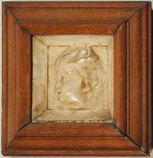 Sculpture of Cherub's Head*
