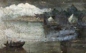 Boats at a Small Harbour