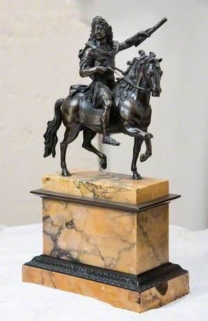 Equestrian Statuette of Louis XIV (1638–1715)