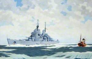 HMS 'Vanguard'