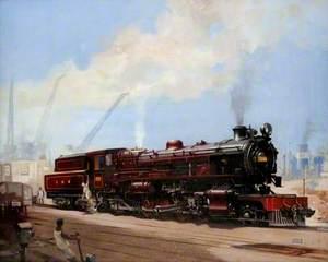 East African Railway Tribal Class Locomotive No. 2903
