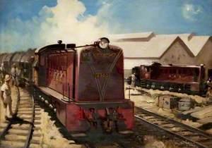 East African Railway Northern British Diesel Locomotive No. 8303