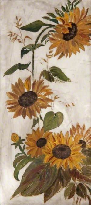 Sunflowers and Foliage