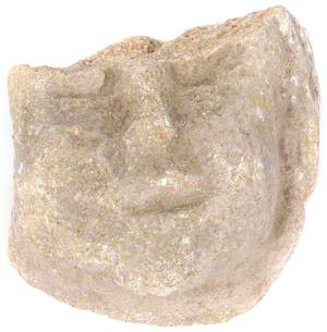 Carved Stone Face