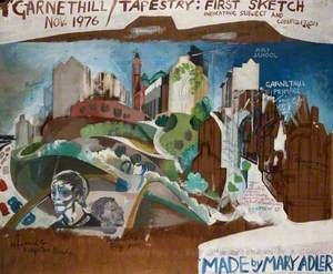 Garnethill Tapestry: First Sketch