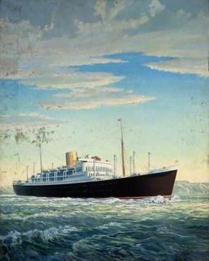 Passenger-Cargo Motor Vessel 'Rangitane'