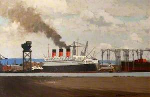 Fitting Out: RMS 'Queen Mary' at Clydebank, 1936
