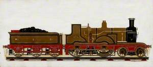 North British Railway Locomotive No. 603