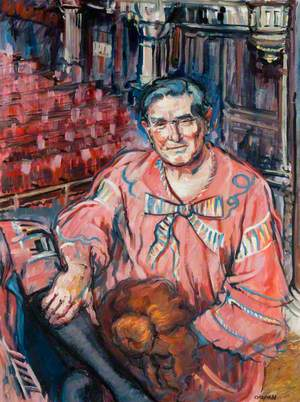 Jimmy Logan (1928–2001), as Dame Lizzie Trotter
