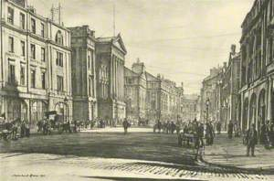 Wilson Street and the Sheriff Court House, Looking East