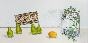 Caged Fruit and Ivy