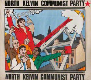 North Kelvin Communist Party Banner*