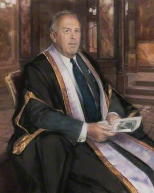 Professor Hamish Wood, Chair of the Glasgow Caledonian University Court (1993–1994)