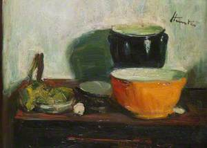 Still Life with a Yellow Bowl