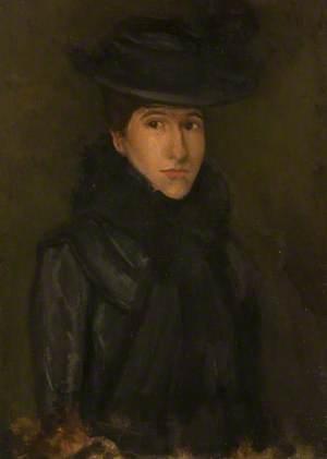 The Black Hat (Miss Rosalind Birnie Philip)