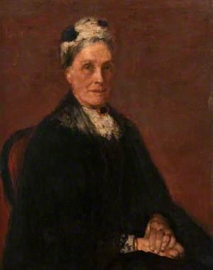 The Artist's Mother (Margaret Paterson, née Hunter, 1817–1901)