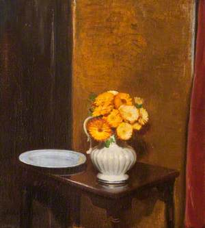 Still Life with Marigolds