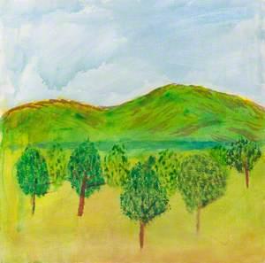 Trees in a Golden Field*
