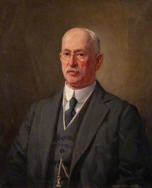 Dr Andrew Freeland Fergus (1858–1932), President of the Royal Faculty of Physicians and Surgeons of Glasgow (1918–1921)