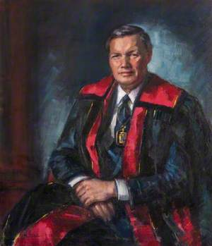 Professor Arthur C. Kennedy, President of the Royal College of Physicians and Surgeons of Glasgow (1986–1988)