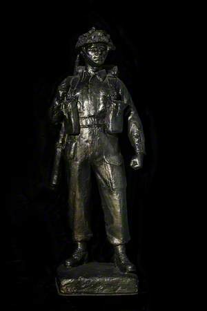 One-Third-Scale Cast for a Memorial to the Royal Scots Fusiliers Who Fell in the Second World War