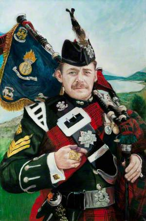 Pipe Major Gordon Walker (b.1967)
