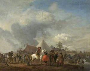 A Dutch Horse Fair