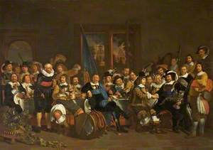 The Banquet of the Civic Guard at Amsterdam, The Netherlands, 1648