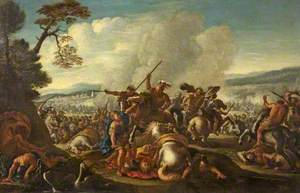 Pitched Battle Scene