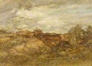 Gravel Pit near Salperton, Gloucestershire