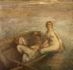 Two Girls in a Boat