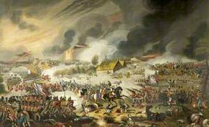 The Battle of Waterloo, 18 June 1815