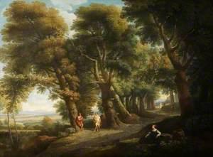 Landscape with Six Figures