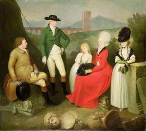 A Family Group of the 5th Duke of St Albans