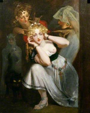 Bertalda Frightened by Apparitions