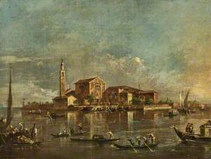 The Island of San Giorgio in Alga, Venice, Italy