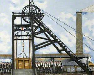 Changing Shifts, Princess Royal Colliery, Gloucestershire