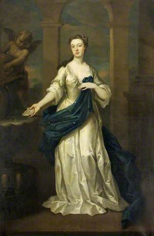 Maria Heathcote, née Eyles (1707–1792), at the Time of Her Marriage to George Heathcote