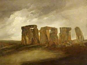 Stonehenge, Wiltshire, General View from the East
