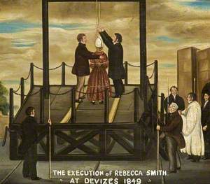 The Execution of Rebecca Smith at Devizes, 1849