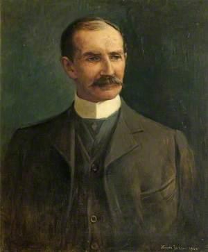Ernest Reed (1854–1919), Owner of Devizes Castle, Wiltshire (1918)